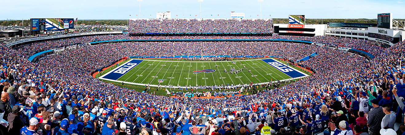 Buffalo Bills Panoramic - New Era Field Picture