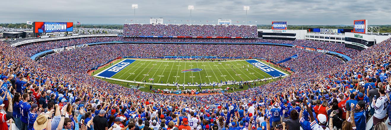 Buffalo Bills Panoramic - Highmark Stadium Picture