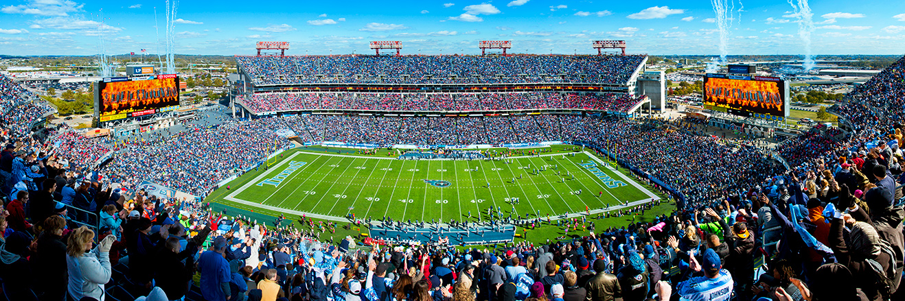 Tennessee Titans Panoramic Picture - NFL Fan Cave Decor